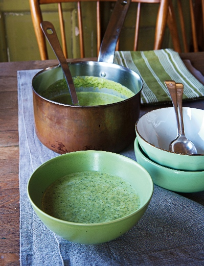Watercress And Almond Soup